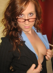 Ruby Comes Home From The Office And Starts To Fuck Her Tight Pussy With Her New Toy - Picture 4