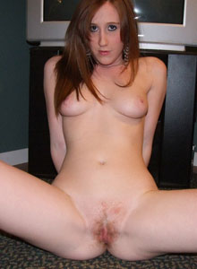 Cute Redhead Teen Ruby Teases With Under Boob - Picture 12